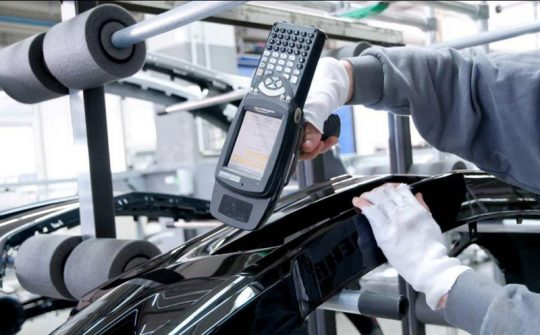 rfid in car manufacturing